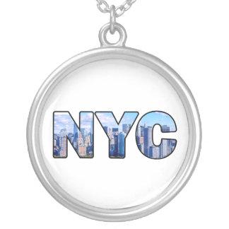 NYC シルバープレートネックレス