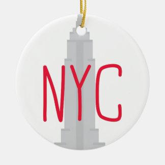 NYC セラミックオーナメント