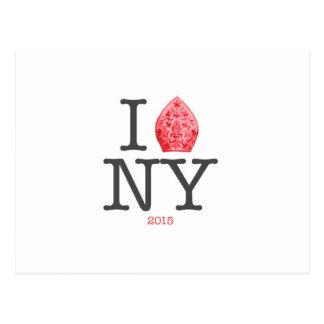 NYC 2015年法皇 ポストカード