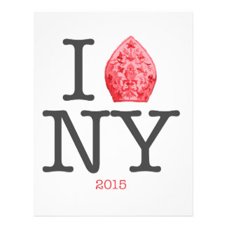 NYC 2015年法皇 レターヘッド