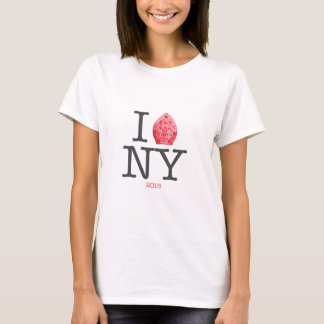NYC 2015年法皇 Tシャツ