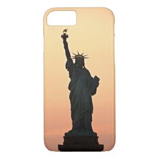 NYC iPhone 7の場合自由の女神 iPhone 8/7ケース