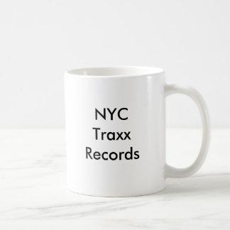 NYC Traxxはコーヒー・マグを記録します コーヒーマグカップ