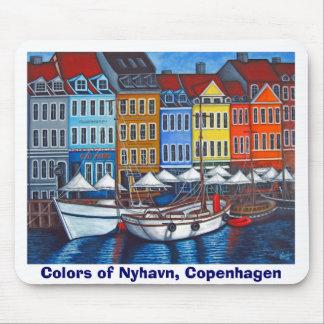 Nyhavnのマウスパッドの色 マウスパッド