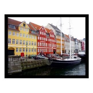 nyhavnの帆 ポストカード