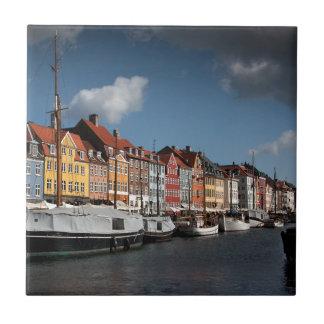 Nyhavn、コペンハーゲン タイル
