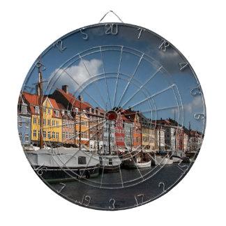 Nyhavn、コペンハーゲン ダーツボード