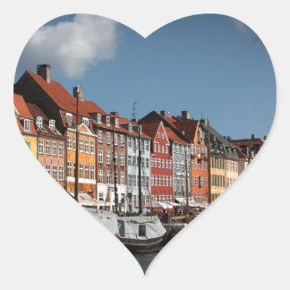Nyhavn、コペンハーゲン ハートシール