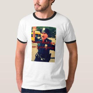 NYPDは警察Accountabillity.を説明します Tシャツ