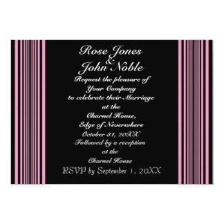 Nyxの(ピンクの)結婚式招待状 カード