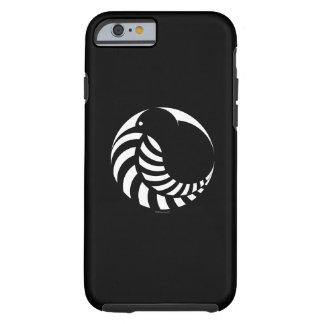 NZのキーウィの銀製シダのiPhone6ケース ケース