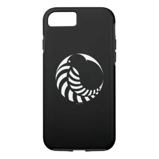 NZのキーウィの銀製シダのiPhone 7の場合 iPhone 8/7ケース