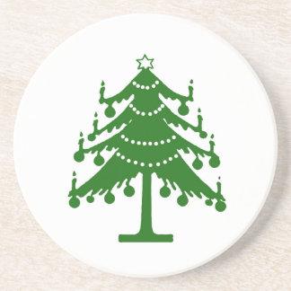 Oのクリスマスツリー コースター