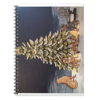 Oのクリスマスツリー ノートブック