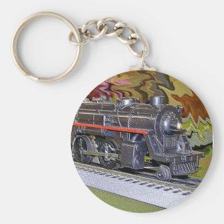 Oのスケール・モデルの列車 キーホルダー