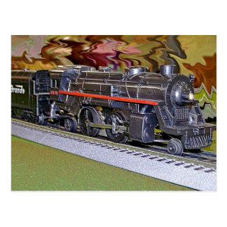 Oのスケール・モデルの列車 ポストカード