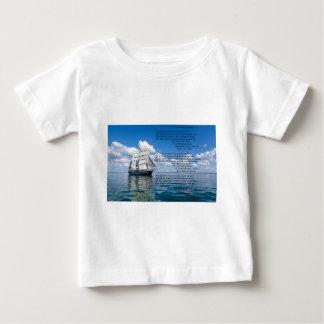 Oの大尉の下記によって私の大尉: ウォルト・ホイットマン ベビーTシャツ