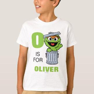 Oは不機嫌|があなたの名前を加えるオスカーのためです Tシャツ