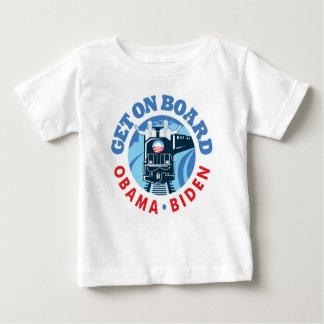 O列車-幼児Tシャツ ベビーTシャツ