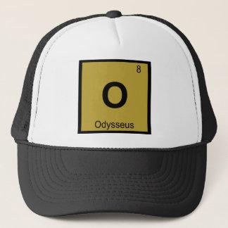 O -オデュッセウス化学周期表の記号のギリシャ語 キャップ