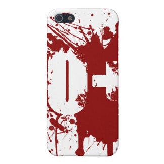 O 陽性 血 タイプ 寄付 吸血鬼 ゾンビ iPhone 5 ケース