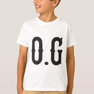 O.Gのオリジナルのギャング Tシャツ