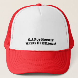 O.J.彼が属するところ基本彼自身-置かれる キャップ