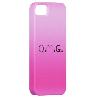 O.M.G. レトロのFluoroのピンクのiPhoneの場合 iPhone SE/5/5s ケース