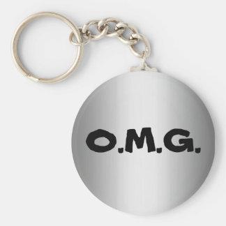 O M G Keychain キーホルダー
