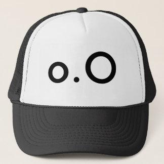 o.Oの顔文字の帽子 キャップ