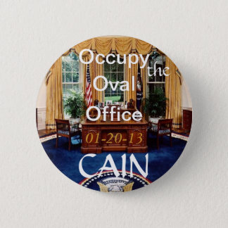 O-O-Oカインの楕円形のオフィスボタン 5.7CM 丸型バッジ