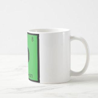 O - Objectivismの哲学化学記号 コーヒーマグカップ