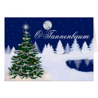 O Tannenbaum カード