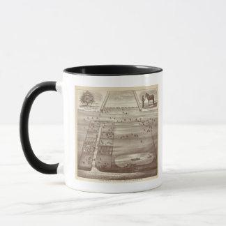 Oakdale牧場 マグカップ