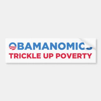 Obamanomics バンパーステッカー