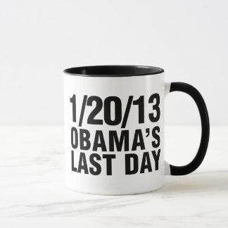Obamas最後の日1/20/13 マグカップ