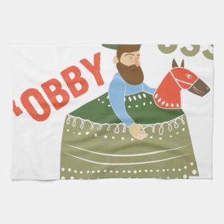 Obby Oss キッチンタオル