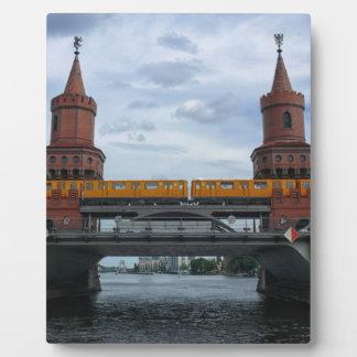 Oberbaum橋、ベルリン フォトプラーク