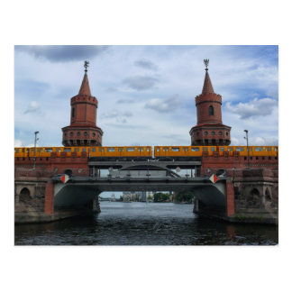 Oberbaum橋、ベルリン ポストカード