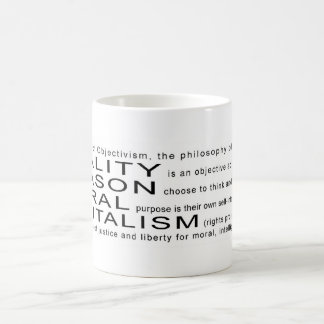 Objectivismのマグ コーヒーマグカップ