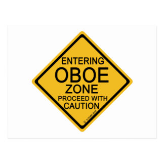 Oboeの入る地帯 ポストカード