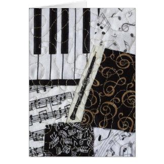 Oboeの木管楽器の楽器 カード