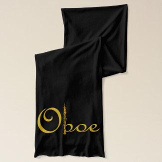 Oboeの筆記体 スカーフ