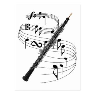Oboe ポストカード