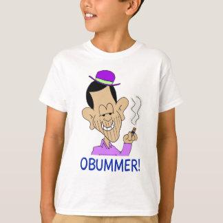 obummerオバマつまらないアンチオバマ tシャツ