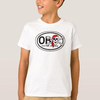 OBXのどくろ印の海賊子供のTシャツ Tシャツ