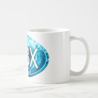 OBXの外銀行は楕円形を振ります コーヒーマグカップ