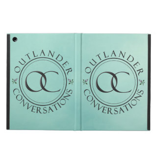 OCのロゴ#1のiPadの場合-青 iPad Airケース