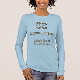 Ocオリジナルのクリスチャン Tシャツ