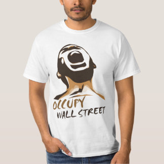 Occupy wall streetのワイシャツ tシャツ